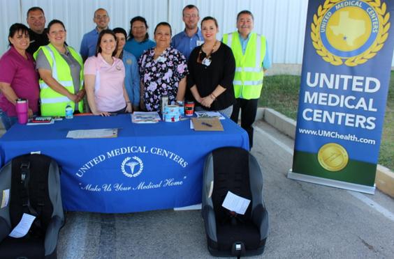 UMC dona 25 asientos de seguridad para los niños