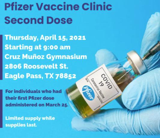 Hoy es la vacunación!.