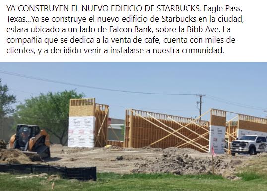 Ya viene Starbucks a la comunidad.