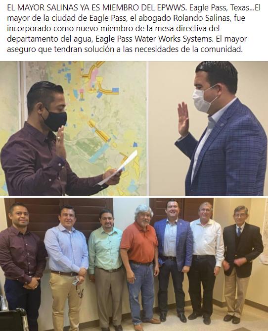 El mayor Rolando Salinas ya es miembro del EPWWS.