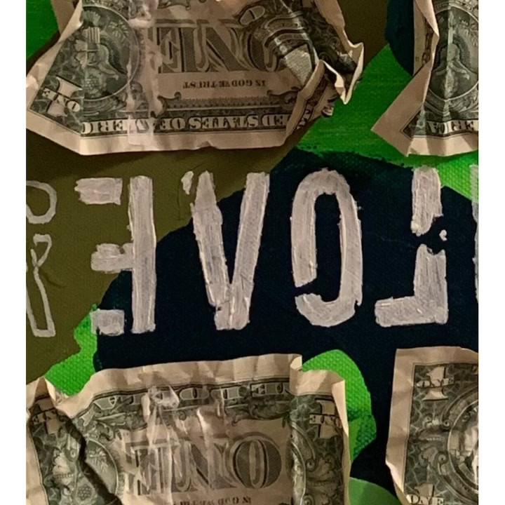 REVOLUTION - art is love not war