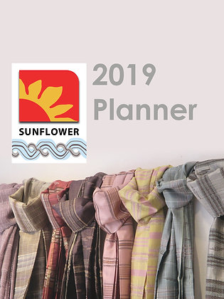 Sunflower 2019 Planner