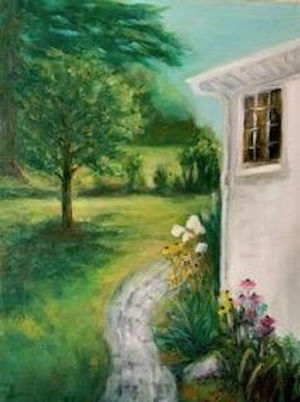 Garden in Sunlight