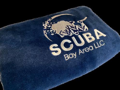 SBA Custom Blue Towel