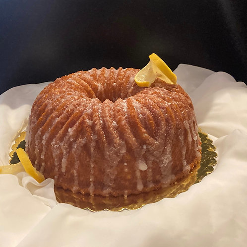 Lemon Elderflower Bundt Cake