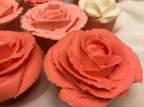 Box of Cupcake Roses (12 cupcakes)