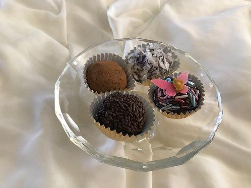 Brigadeiro -  Brazilian chocolate truffle