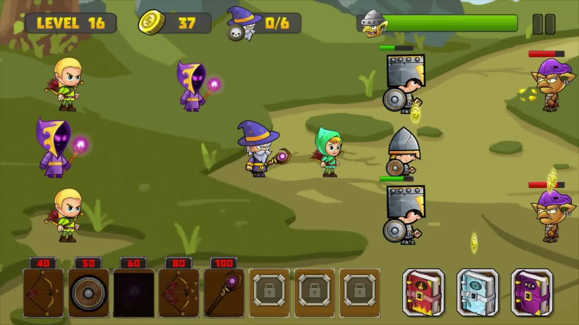 Goblin Defence - Challenging Mobile Game
