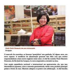 """Empresária Inova e aposta em """"marmitex gourmet"""