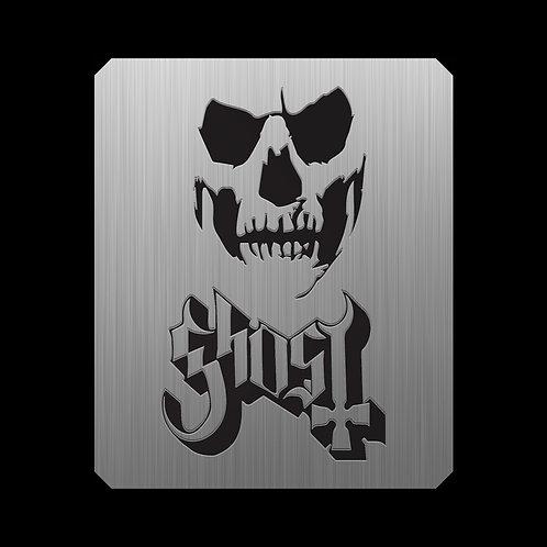 Ghost, Placa metálica