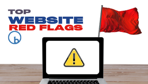 Top Website Red Flags