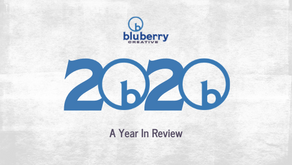 Bluberry Creative's Year in Review