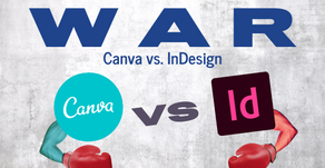 War of Design: Canva vs In-Design