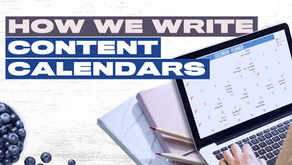 Creating a Content Calendar