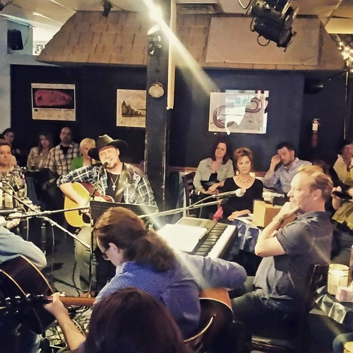 Live at The Bluebird Cafe with Buddy Hyatt Dustin Howser Glenn Spayth and Doak Turner  Quentin Horto