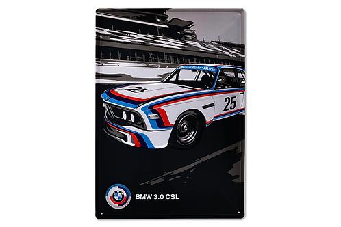 BMW Motorsport metal sign Heritage