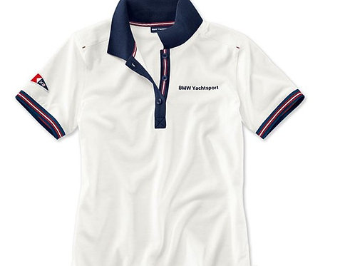 BMW Yachtsport polo shirt, ladies (white)