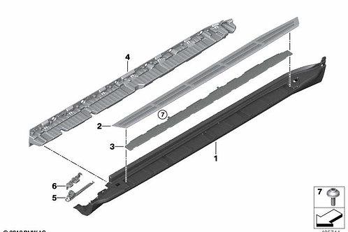 Side step set aluminum