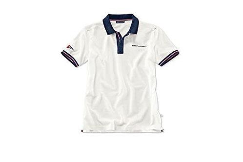 BMW Yachtsport polo shirt, men (white, XL)