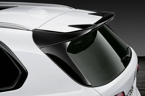 Rear spoiler black M Performance G05
