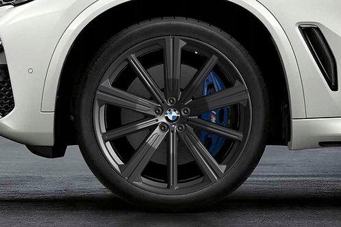 "Wheel set  749M 22"" Matt Black G05"
