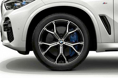 "Wheel set  741M 22"" Grey"