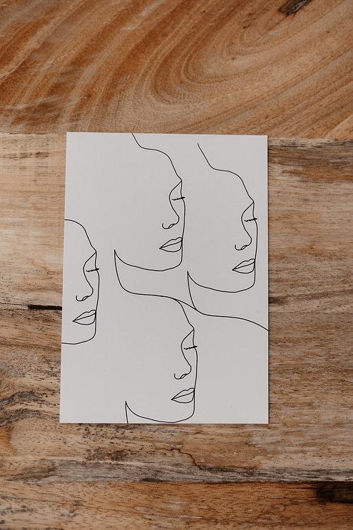 Faces-Card