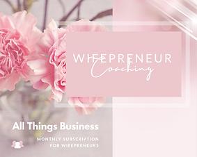 Gloria Warren Wifepreneur Coaching Membe