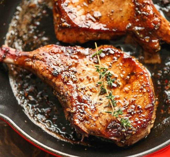 Fried porkchops