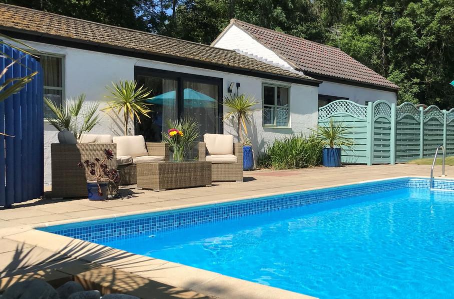 Poolside and Studio Lodge