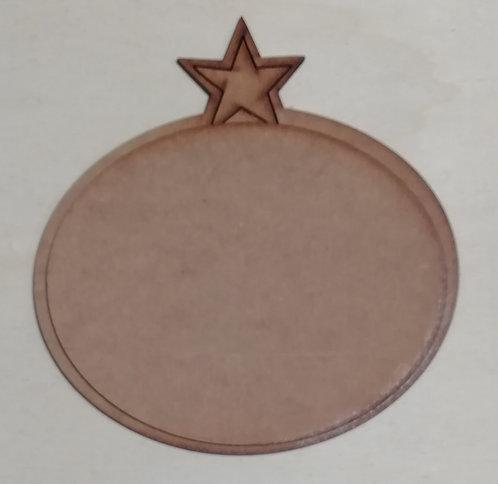 Placa Estrella Grande