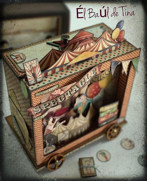 Caja Carrito Circo
