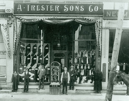 Trester Tailor in the 1880's - Sheboygan, WI