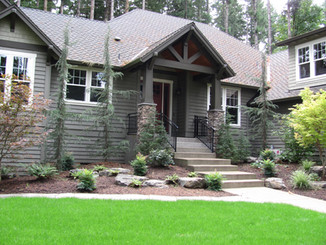 Landscaping, Front of House.JPG