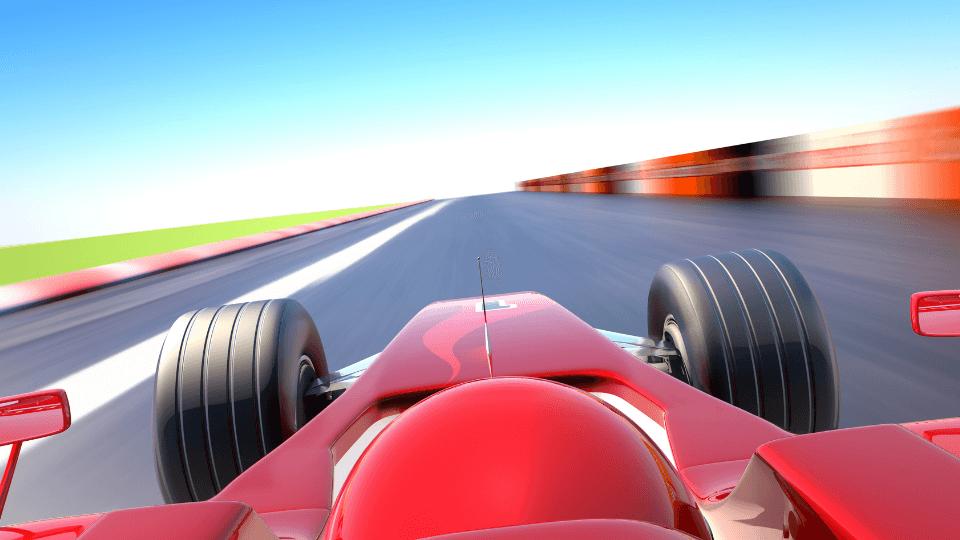 Formula-1 car and Intraday Trading