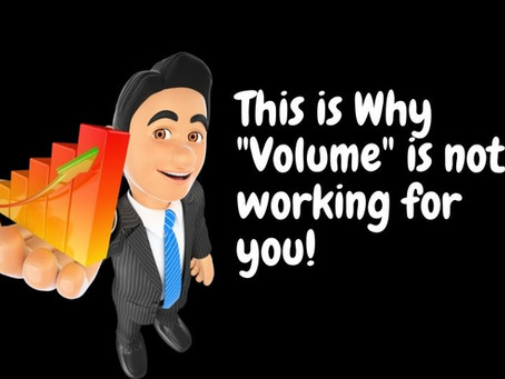 What If I Say Most Traders Use VOLUME In A Wrong Way?