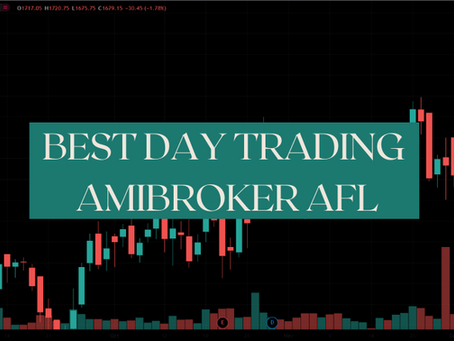 Best Intraday Trading Amibroker AFL 2021 | Free Download
