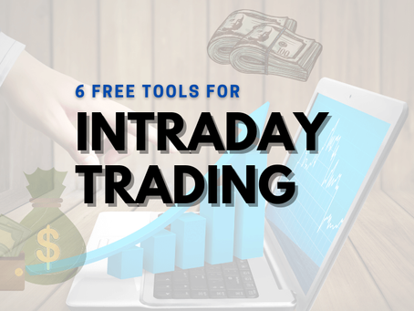 Top-6 Free Intraday Trading Tools 2021
