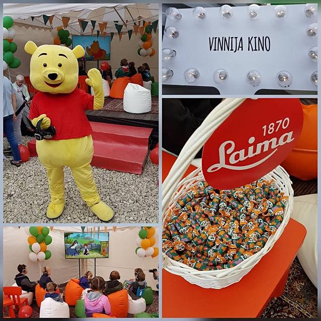 LAIMA sweets factory celebration