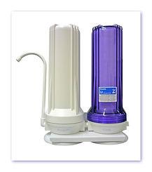 filtro countertop, purificador countertop, filtro duplo de carvão ativado, filtro fazer cerveja, filtros springway, filtro acqua star