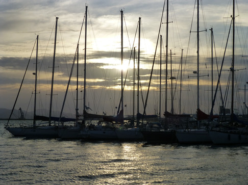 Hafen Marina Sardinien