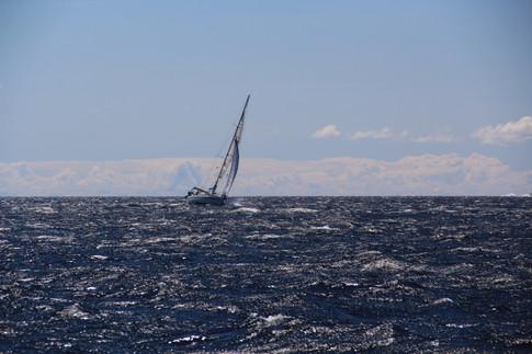 Krängung Segelboot