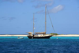 Segelboot Karibik