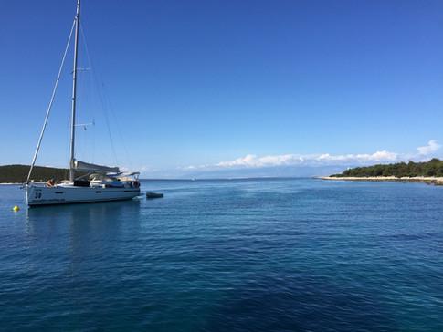 Segelyacht Kroatien