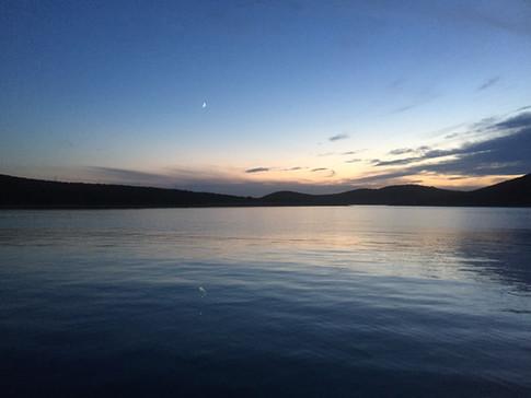 Sonnenuntergang Kroatien Krk