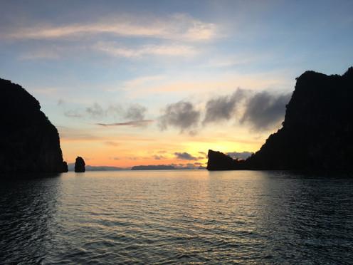 Sonnenuntergang Thailand Phuket
