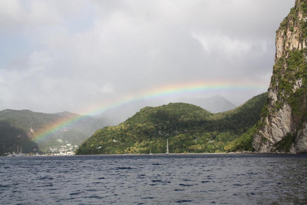Regenbogen Karibik