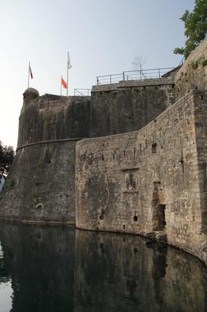 Kotor Stadtmauer