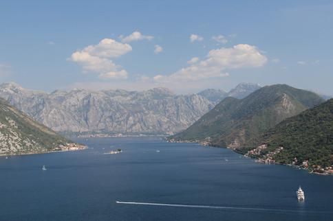 Montenegro -Bucht von Kotor