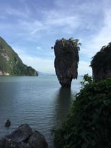 Jamesbond Felsen Thailand
